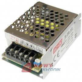 Zasilacz imp. 12V 36W 3A CCTV LED, NEPOWER Przemysłowy
