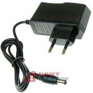 Zasilacz ZI 12V/1A      NEPOWER wtyk:2,5/5,5 impulsowy LED