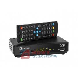 Tuner TV naz. URZ0329 DVB-T2 HD H.265 HEVC LAN. CABLETECH DVB-T,USB,HDMI