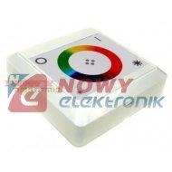 Sterownik LED RGB 24A dotykowy  natynkowy naścienny do taśm led