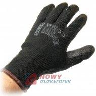 Rękawice ochronne GEKON r.9 gr. czarne