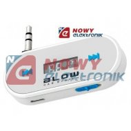 Transmiter FM BLOW do smartfon B /tablet czarny(wbud. akumulator)