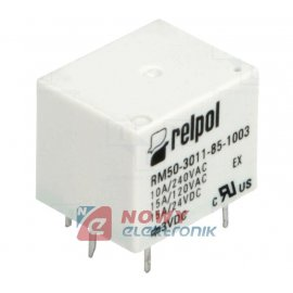 Przekaźnik RM50-3011-85-1003 3V DC 10A elektromagn.