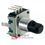Impulsator - Encoder EC12-24 pio oś-6mm,l-12mm,24impulsów