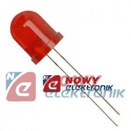Dioda LED 10mm czerw.H DIFFUSE L-813SRDC