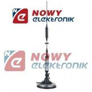 CB Antena Delta 826 MAG. 60cm zam.LEMM AT106, podstawa 12,5cm