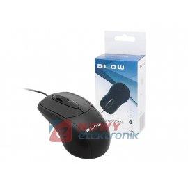 Mysz optyczna BLOW MP-40 czarna USB