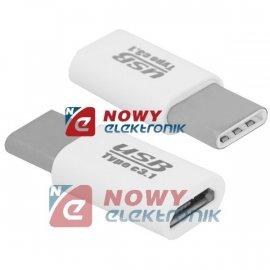Przejście USB-C na microUSB   LX adapter ładowania/transm.