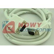 Kabel do mon. HDB15M/M 3m SVGA