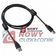 Kabel USB 2.0 wt.A/wt.B 1.5M z filtrami   INTEX