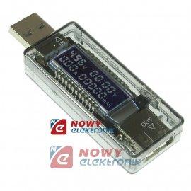 Miernik napięcia i prądu z USB TESTER KWS-V21 KEWESI