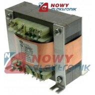 TSL100/001 230V/2x260V 0.12A, 2x3.15V 3A,0-5V 6.3A 2A,do wzmacn. lamp.
