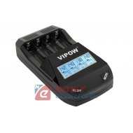 Ładowarka Smart Charge R3 R6 mikroproc. kanały 1-4 VIPOW