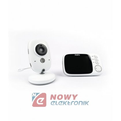 Babyfon z kamerą Xblitz Kinder  Baby Monitor Elektroniczna Niania 2,4GHz