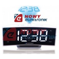 Radiobudzik BLAUPUNKT CRP7WH bi FM/ALARM/USB/Projektor