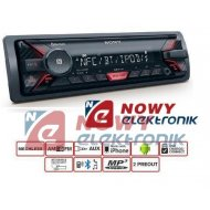 Radio samoch.SONY DSX-A400BT    RED  USB Bluetooth