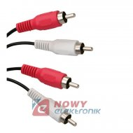 Kabel 2*RCA 1m ICIDU
