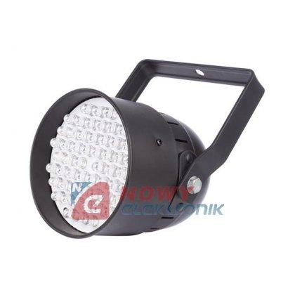 Efekt UV LED PAR COMPACT 54x10mm VELLEMAN