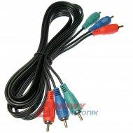 Kabel 3*RCA 2m ICIDU