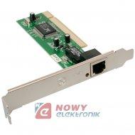 Karta sieciowa PCI 10/100Mbit ICIDU PCI  LAN