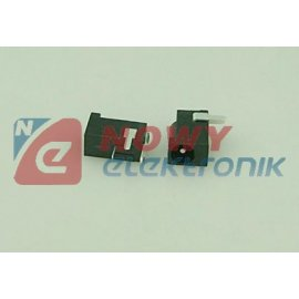 Gniazdo DC 1.3mm mont. plastik 4.0/1.3