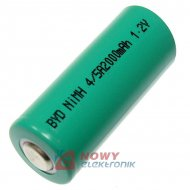 Akumulator do pakietu BYD4/5A BB bez blaszkek)1,2V 2000mAh 17x42mm