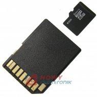 Karta pamięci micro SDHC 16GB Class 10/ z adapt. SD