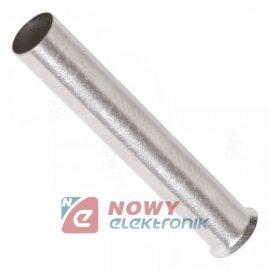 Tulejka kabl. 0.5mm 2*8 nieizol. KRN005008
