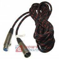 Kabel mikr.3m wtXLR3p gn.XLR3p profesjonalny stereo