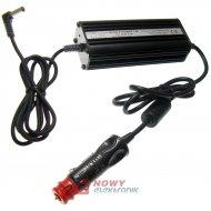 Zasilacz ZI laptop12Vzas/15Vwyj 5.1A Toshiba wtyk DC 6.3x3.0mm samochod.