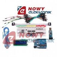 Zestaw elementów ARDUINO XXL + programator USBASP -arduino KLON