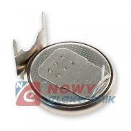 Bateria CR2430/1GU Batimex 3V z blaszkami 3-pin 270mAh
