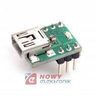 Zestaw AVT1780B miniat.konw.USB/ UART