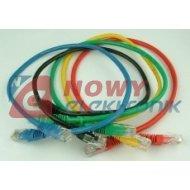 Kabel LAN kat.5e UTP 10m sieciow Różne kolory