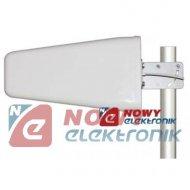 Antena GSM Tajfun 3G CDMA LTE  UMTS 10m kabel wtyk N 19dbi do wzmacn.