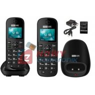 Telefon GSM MAXCOM MM35D SIM    biurkowy stacjonarny na karte SIM