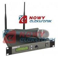 Mikrofon bezprzew. MICW-5012kan PLL 1 mik. do ręki UHF professional