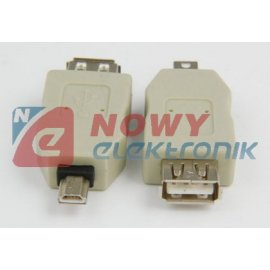 Przejście USB gn.A/wt.mini USB FOTO CANON