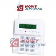 Centrala Alarmowa CB32GZ ELMES bezprzewod. z GSM (podśw. zielone)