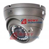 Kamera HD-UNIW. KU30-720P-2812 1MPX 2,8-12mm IR30m szara 4w1 kopułka