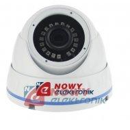 Kamera HD-UNIW. KU20-720P-28-W Biała 1MPX 2,8mm IR20m biała 4w1 kopułka