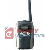 Radiotelefon WT-401 kpl 2szt ręczny zasięg 3km krótkofalówka 446MHz