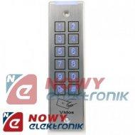 Szyfrator ZS32 hermet. z czytn. RFID. 2wyj. dotykowy VIDOS