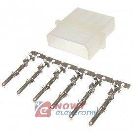 Styk metal męski do ZZS525-OM styk-pin (do wtyków HDD)term