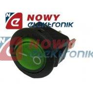 Przełącznik podśw.okr.230V ziel. zielony AC