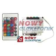 Sterownik LED RGB IR 24przyc.18A POWER OFF MEMORY  RGB