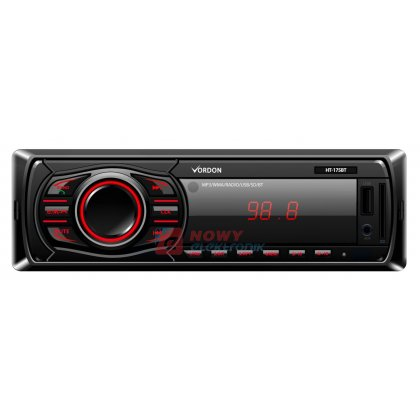 Radio samoch.Dignity HT-175BT Bluetooth 2x45WATT USB/SD/MMC