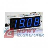 Zegar biurkowy LED z termometrem 5V MODUŁ zestaw do samodzielnego montażu