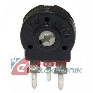 Pot.PT10LH101/100Ω/PIH/500 pionowy, stojący, montażowy