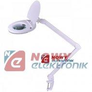 Lampa z lupą 5D (T4 22W) warszt. warsztatowa